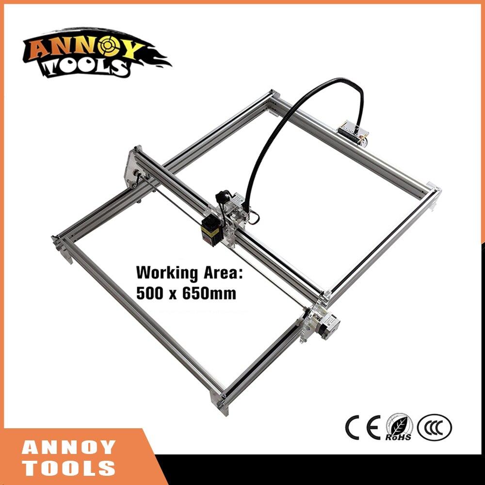 300mw-5500mw 10W 15W DIY Mini Laser Engraving Machine, 65*50cm Engraving Area ,Mini Marking Machine laser cutting machine