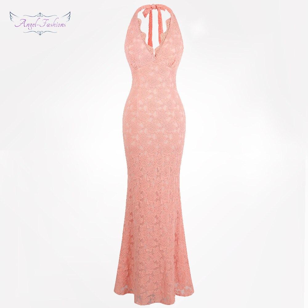 Tienda Online Bridemaides mujeres formal satén Rosa vestidos de ...
