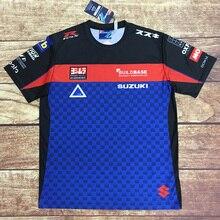 Moto rcycle Racing moto rbike moto cross moto футболка для верховой езды Мужская Повседневная дышащая одежда с коротким рукавом для вождения suzuki быстросохнущая