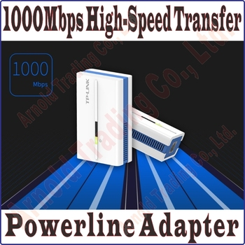 Tp-Link TL-PA1000, AV1000 Power Line Pair 1000Mbps Mini Adapter wired Extender, 1000Mbps wired connection Gigabit Power Line 1