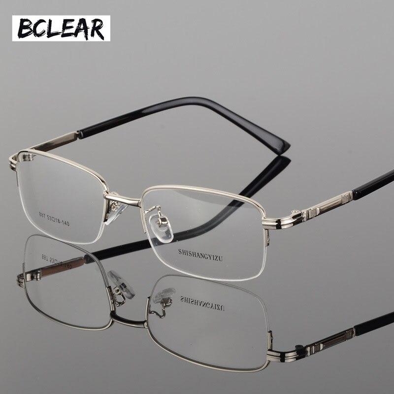 BCLEAR Mode brillen klassische dicke vergoldung männer neue volle ...