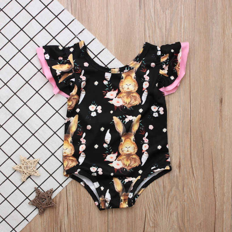Berserk Toddler Floral Romper Summer Romper Baby Girl Stuff Newborn Girl Second 1St Birthday Outfits Baby Girl Summer Clothes