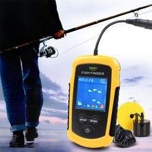 Lucky 100 м рыболокаторы рыболовная приманка выбор чувствительности Sonar эхолот рыболовная сигнализация RL49-0064 Sonar рыболовный искатель