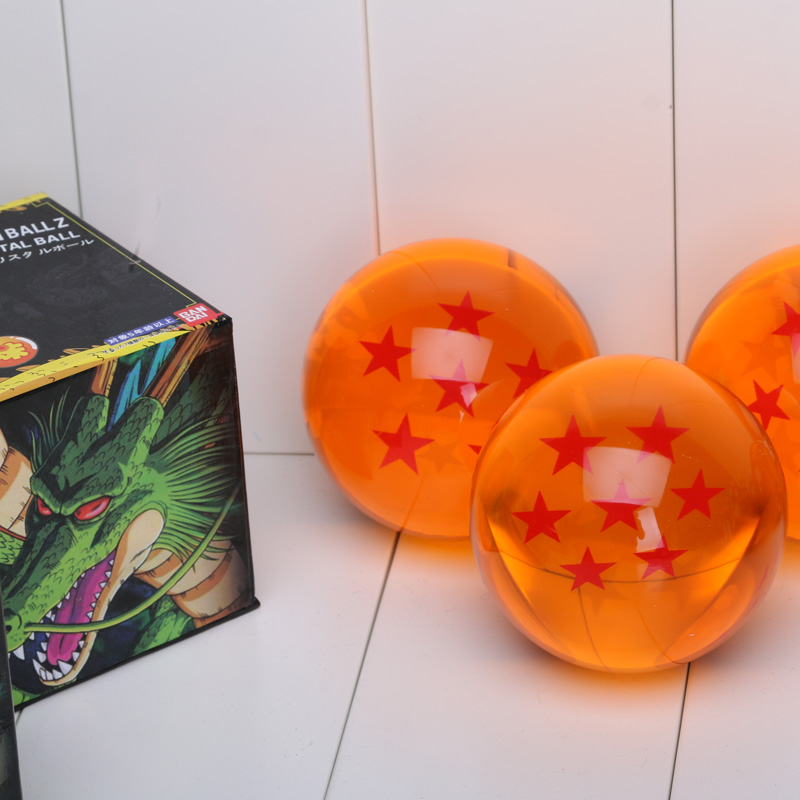 7cm Big Size DBZ Crystal Balls