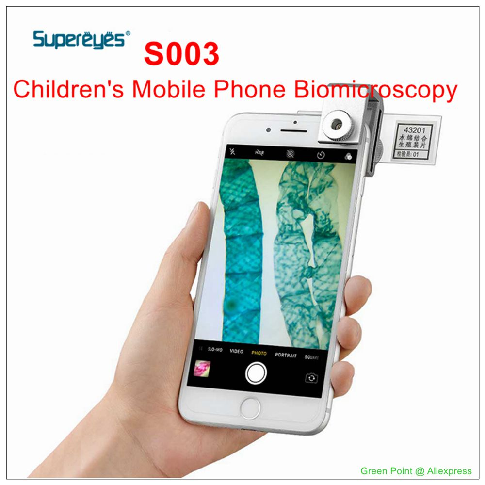 Ultra Eye Student Cell Phone Biomicroscopy Magnifier Sperm Vitality Detection Mirror S003 for Diseases and Pests