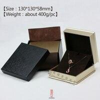 유럽 샴페인 골드 칠기 보석 상자 링 목걸이 시계 상자 도매 사용자 정의