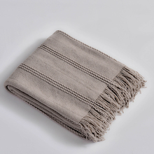 solid blanket for bed sofa adult knitted throw spring summer all season office hotel quilt Bedspread with Tassels famvotar solid color 3 piece quilted bedspread fancy vertical pattern summer bedspreads sofa couch blanket all season throws
