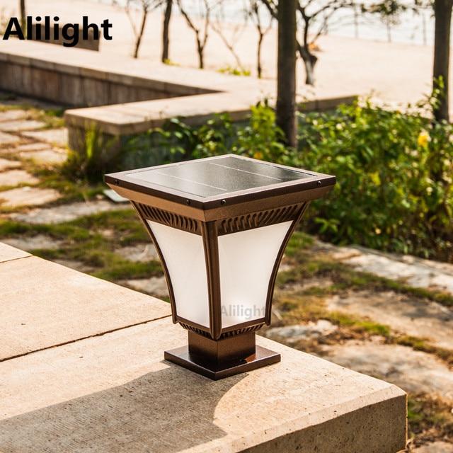 Vintage Goalpost Light Wall Outdoor Lighting Garden Waterproof Led Energy Pillar Lamp Home Decor Landscape Lighting Column Light
