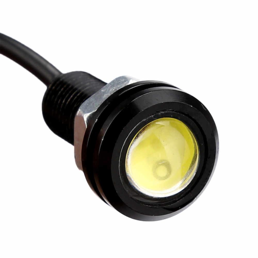 Kongyide światła samochodowe 1x DC12V 9W oczy orła led do jazdy dziennej DRL światło cofania samochodów lampa samochodowa światła samochodowe led zewnętrzne światło przeciwmgielne