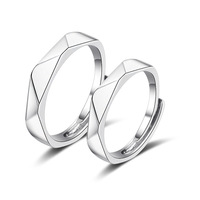Couple Ring Sets For Wedding Bride And Groom Solid 925 Sterling Silver Jewelry Wedding Bands Sets