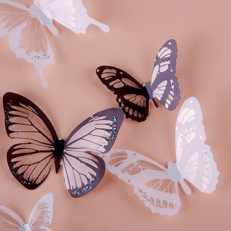 Con oit d coration murale promotion achetez des con oit for Decoration murale papillon 3d noir