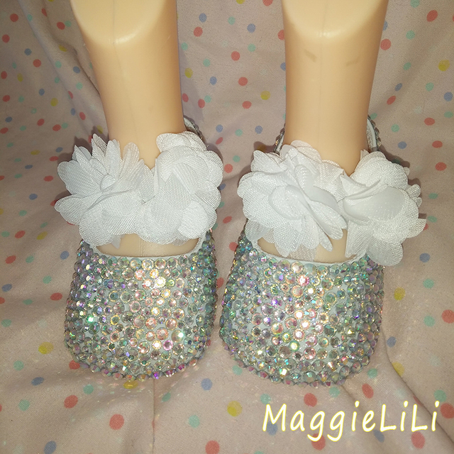 Бесплатная доставка принцесса AB горный хрусталь детская Обувь ручной работы цветы ребенка малыша bling bling обувь прекрасный моды ребенка девушка обувь