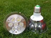 7 W Par30 E27 מנורת LED Bulb זרקור בהיר תכשיטי חנות חלון קישוט מלון מקורה למטה תאורה חם לבן קר לבן