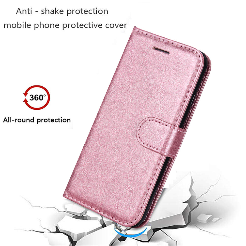S8 S9 S10e Plus S3 S4 S5 S6 S7 Edge PU Leather Flip Cover Wallet Phone Case For Coque Samsung Galaxy Note 3 4 8 9 J4 6 Stand Bag in Wallet Cases from Cellphones Telecommunications