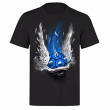 SUPERMARIO BLUE SHELL OF DEATH UNISEX BLACK CLASSIC GAMERS PH4 T-SHIRT Print T-Shirt Mens Short Tee Shirt Homme Tshirt Men Funny