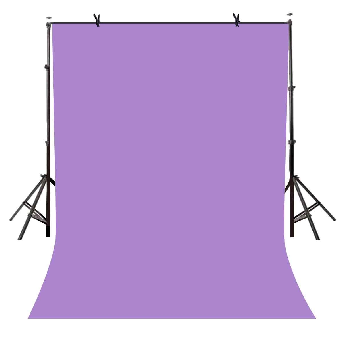 150x210cm Photography Studio Non-woven Backdrop Light Purple Solid Color Simple Background LY087