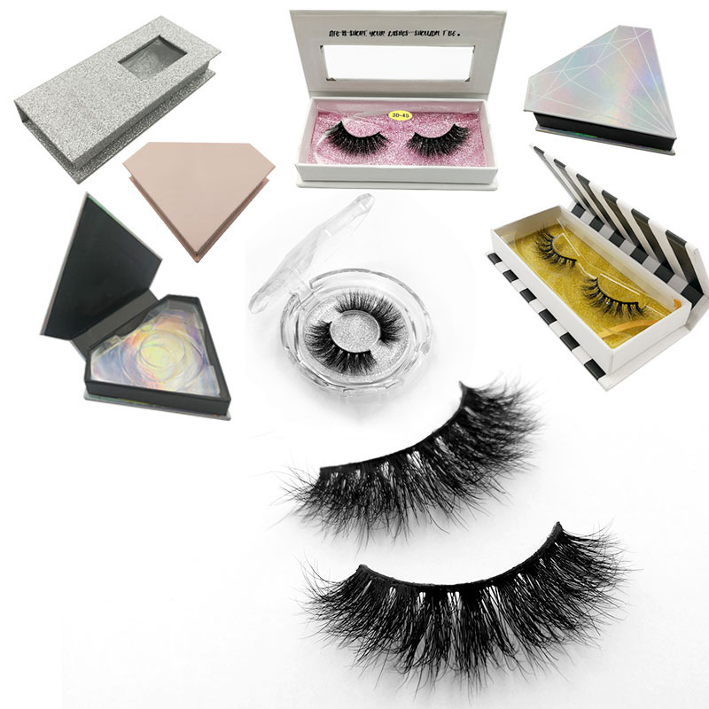 Beauty Essentials False Eyelashes Crown Lashes Private Label 3d Mink Eyelashes Lash Packaging Eyelash Vendor Fake Eyelashes