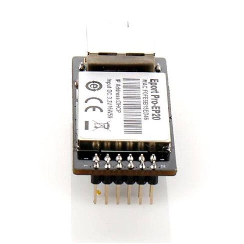 Eport Pro-EP20 Linux Network Server Port TTL Serial To Ethernet Embedded Module DHCP 3.3V TCP IP Telnet
