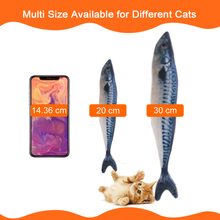 7 Style Catnip Chewy Fish Toys for Cat
