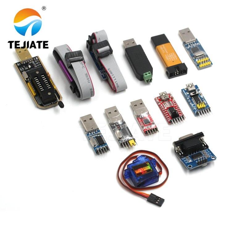 USB TTL ISP Programmer Mini ST-LINK V2 SG90  AVR JTAG ICE USB STM32 Emulator Download Super Protection PL2303XH