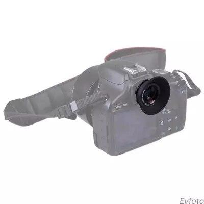 1.08X-1.60X Zoom Camera Viewfinder Eyepiece Magnifier Lens For Canon/Nikon/Pentax/Sony/Olympus/Fujifilm/Samsung SLR DSLR Camera
