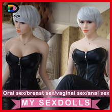 158cm Japan life size Europe face sex dolls,Lifelike real silicone sex doll with big chest breast oral/vagina sexy toys for man