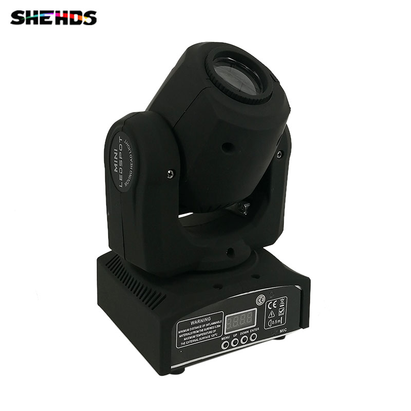 Hot 4pcs/lot Best Selling 30W Spot Gobo LED RGB DJ Mini LED Spot/Gobos Moving Head Stage Light стоимость