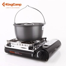 KingCamp Windproof Ceramic Gas Stove With Carrying Case