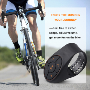 Image 5 - Bluetooth 4.0 Remote Control Media Button Music Player Controller Car Kit For Car Steering Wheel Bike For IOS For Android