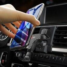 Apto para bmw série 3 f30/série 4 f32 2014-2019 suporte do telefone celular do carro suporte do respiradouro de ar do carro suporte da montagem nenhum suporte magnético do telefone móvel
