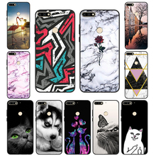 For Huawei Y6 2018 Case Silicon Cover For Huawei Y6 PRIME 20