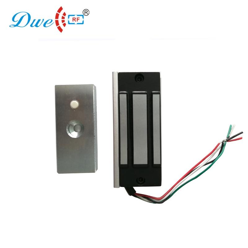 DWE CC RF access control electric lock 120lbs holding force single door electromagnetic locks