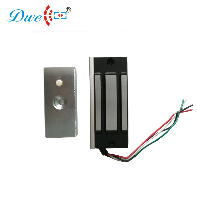 DWE CC RF access control electric lock 120lbs holding force single door electromagnetic locks wholesale free shipping 3 pieces electric lock 60kg electromagnetic lock 120lbs door lock one door magnetic locks