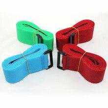 2 шт., 5 см* 200 см, регулируемый нейлоновый багажный крючок для путешествий и кольцевая лента, багажный ремень для поперечной упаковки, багажный чемодан, защитные ремни