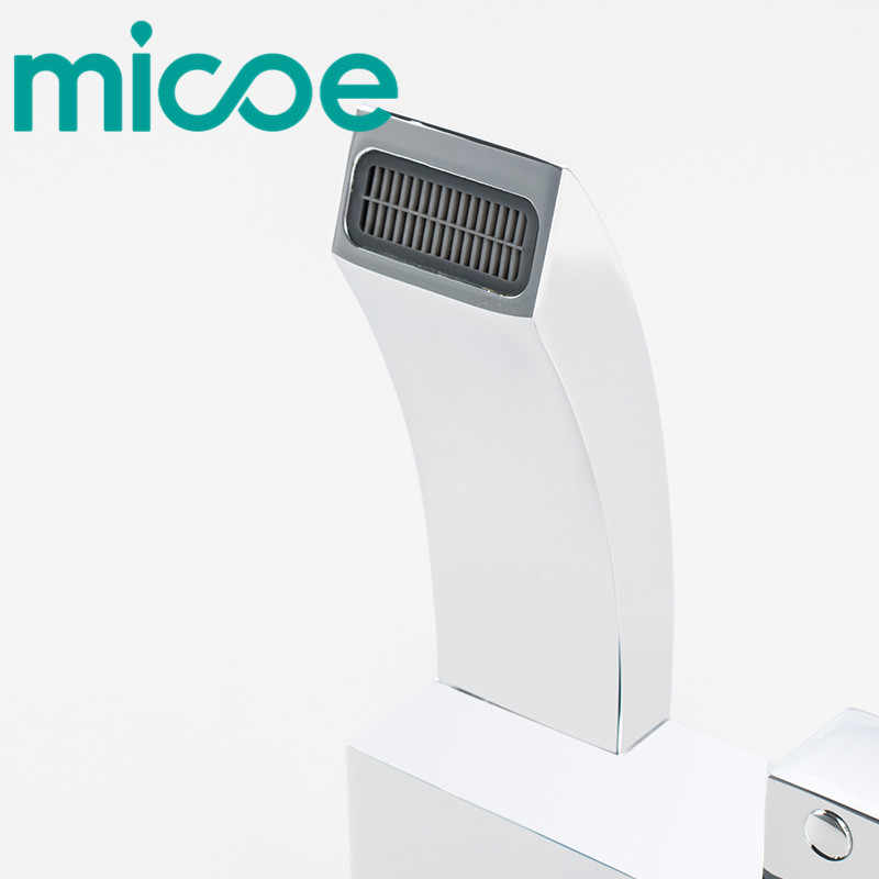 Micoe 浴槽の蛇口浴室のシャワーをタップ浴室のシャワーの蛇口セットの滝の蛇口の水ミキサー H-HC607D