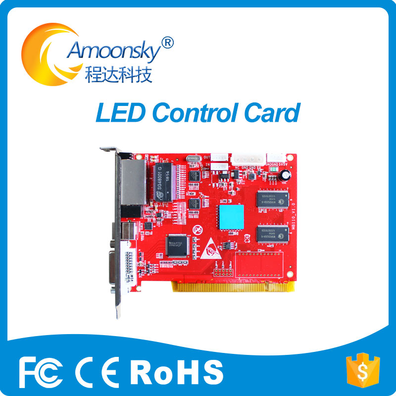 Huidu HD-T901 Sending Card , Full Color LED Video Display Synchronous T901 Sending Card (Work With HD-R501S/R500/R507A/R5018)
