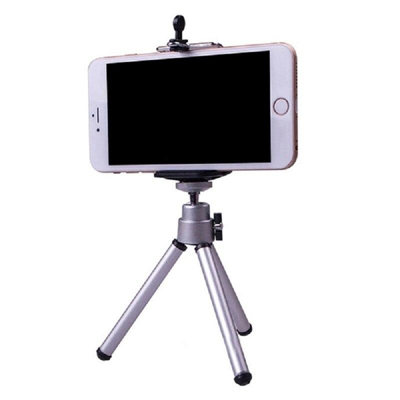 קליפ טלפון חצובה לטלפון Tripode Para Movil מיני חצובה למצלמה חכם סטנד אבזר טלפון חצובה