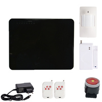1 Set Home Security 6 Wireless Zone And 2 Wire Zone GSM SMS Alarm System