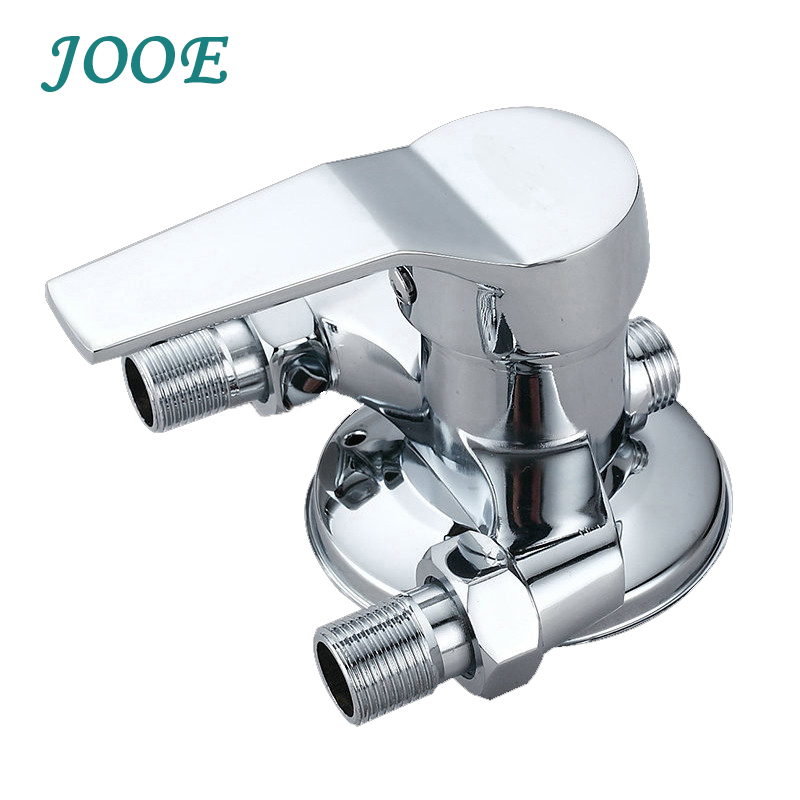Bathroom Shower Faucet Water Mixer Valve Chrome Hot Cold