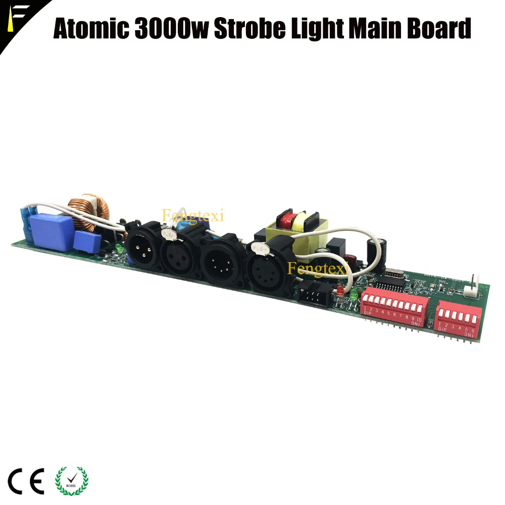 Atomic 3000w Strobe Lighting Accessoties Program Board Replacing Atomic 3000 Main Board Atomic Stage Light Board
