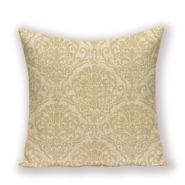 Nordic Home Decorative Throw Pillows Vintage Decorative Cushion Covers Luxury Living Room Cushions Green Gold Pillowcase 45*45