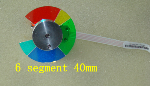 Projector Color Wheel For XR-55X XR-50S PG-D2500X xr e2530sa color wheel 5 color beam splitter used disassemble