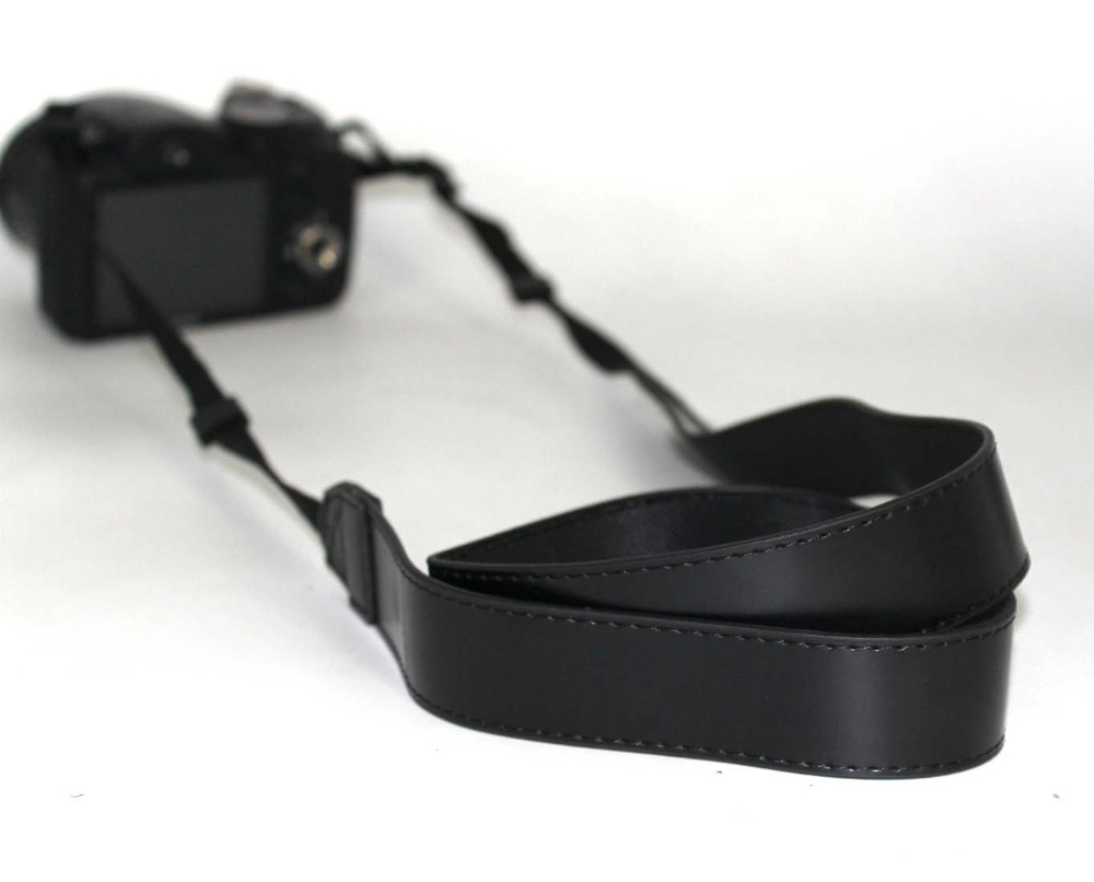PCTC Professional PU Leather Camera Shoulder For Fuji camera FUJIFILM X100T X-T10 X-A1 X-PRO2 X70 X-PRO1 X30 Black Belt Strap