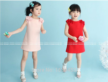 Girls Clothes Rushed Dresses Free Shipping Flower Girl Dress New 2016 Fashion Summer Casual Baby Kids Clothing Children's Wear
