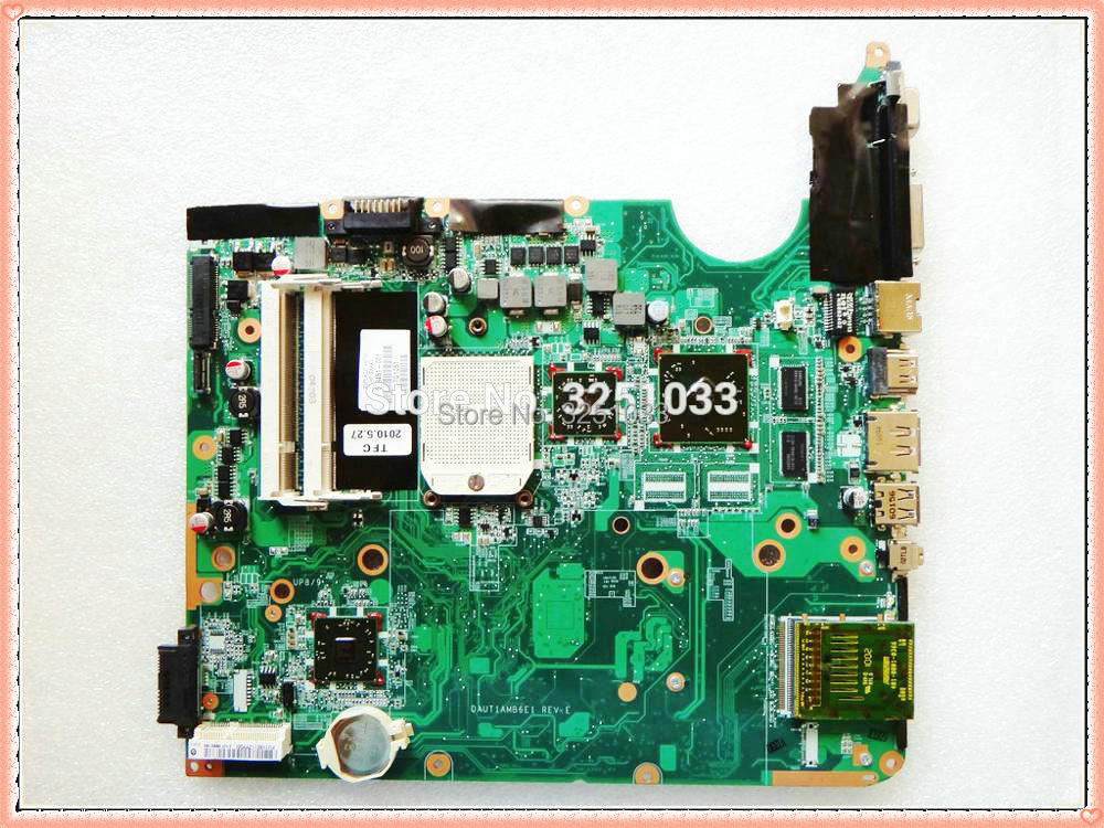 DAUT1AMB6E1 509451 001 FOR HP Pavilion dv6 Notebook FOR HP PAVILION NOTEBOOK DV6Z 1000 laptop motherboard DDR2 100% Tested-in Laptop Motherboard from Computer & Office    1