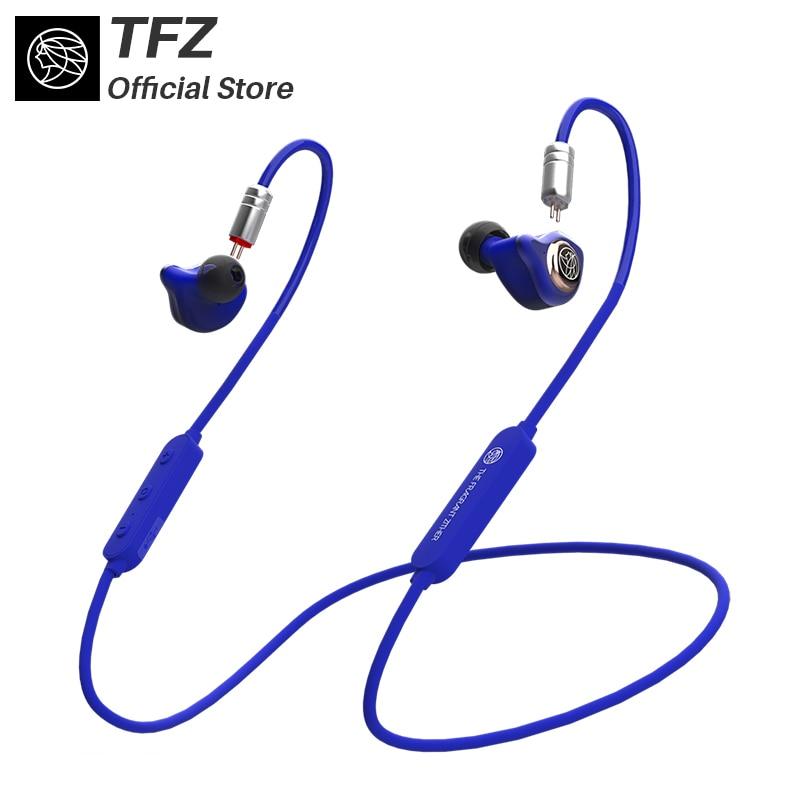 TFZ/AirKing HIFI Bluetooth In-Ear Wired Auricolare Per Il Telefono Mobile con Il Mic, con Cavo di Ricarica Giovane Auricolare Build-in Mic