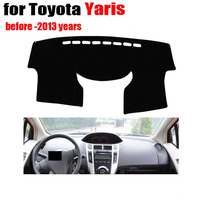 Car Dashboard Cover Mat For TOYOTA YARiS 2013 And Before Years Left Hand Drive Dashmat Pad