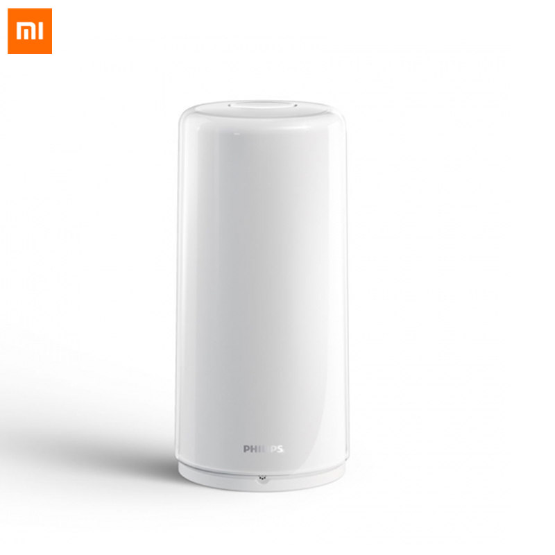 Original Xiaomi Mijia Smart Bedside Lamp 2 LED RGBW Dimmable Night Light USB Type C WiFi Bluetooth 100 240V Mi Home APP Control