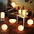 E14 Lâmpada LED bola de vidro da lâmpada Nordic Pós-moderna simples moda personalidade criativa adorno aprendizagem lâmpada de cabeceira do quarto quente