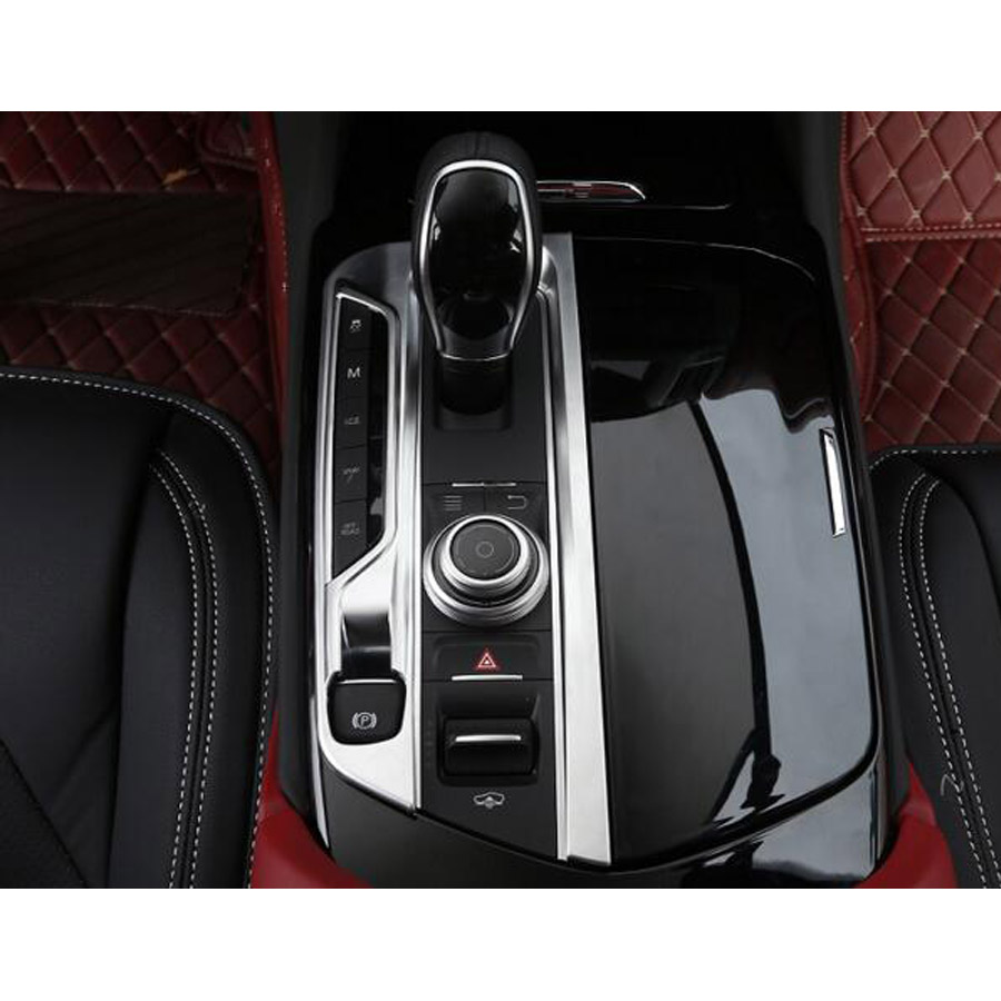 2018 Maserati Levante Interior: YAQUICKA Car Interior Gear Shift Panel Garnish Frame Trim